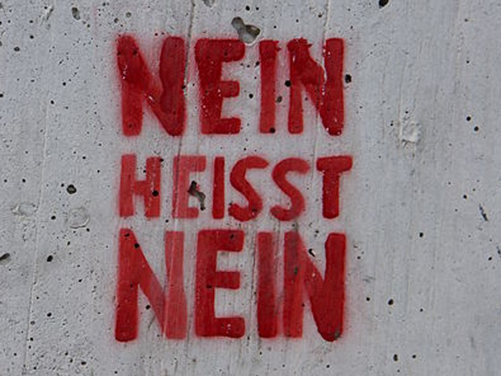 Nein heißt Nein © Martin Abegglen (CC BY-SA 2.0)