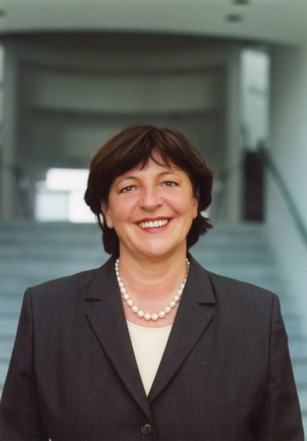 Ulla Schmidt (SPD), 2002 © Bettina Flitner (FMT-shelfmark: FT.02.1806)