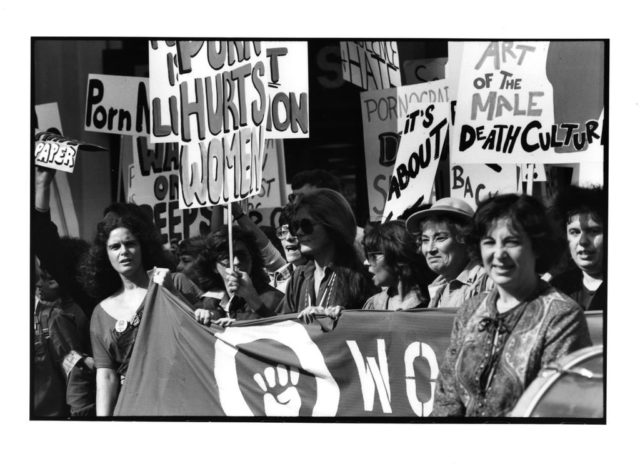 © Brigitte Lhomond, Women Against Pornography, Demonstration am Times Square, 20. Oktober 1979, N.Y.C.