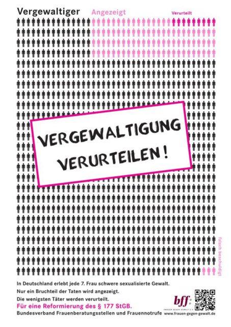 Plakat vom Bundesverband bff, © bff - Frauen gegen Gewalt e.V.