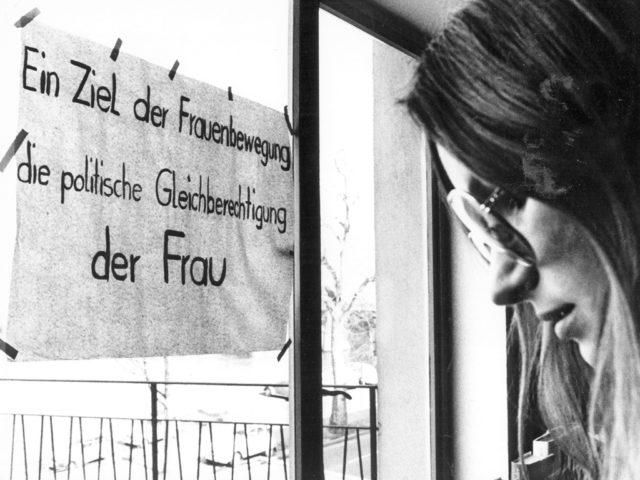 Erster Frauenkongress, Frankfurt a.M., 08.03.1972 © Erika Sulzer-Kleinemeier (FMT-Signatur FT.12.109)