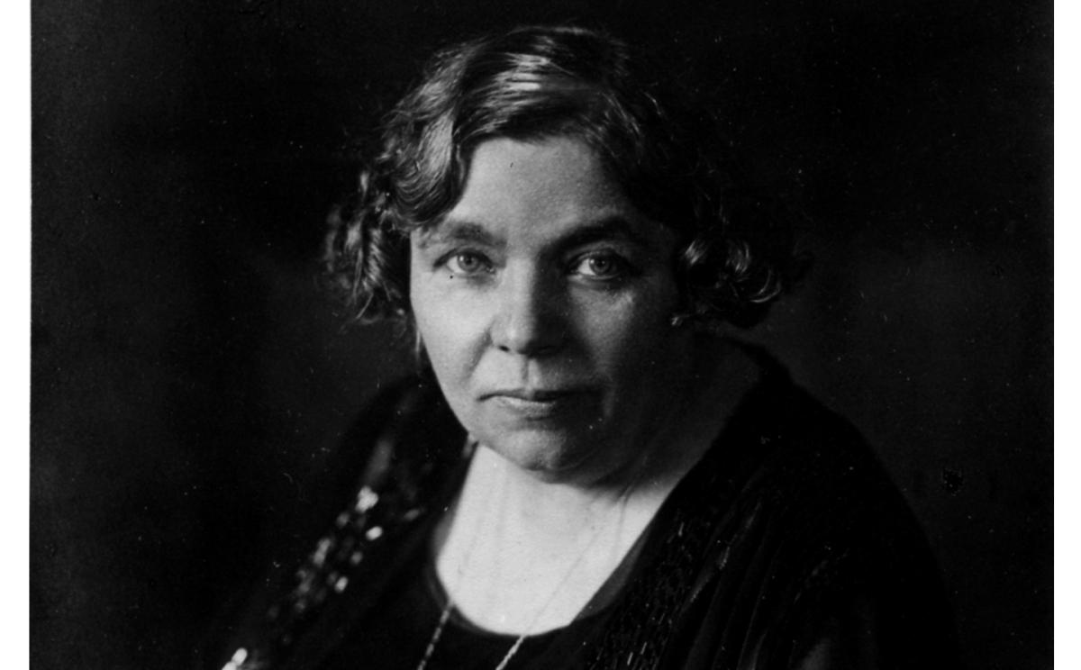Helene Stöcker, 1929, Quelle: EMMA-Archiv