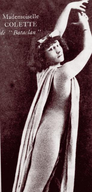 Varietékünstlerin Colette, Quelle: EMMA-Archiv (FMT-Signatur FT.03.0307)