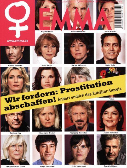 EMMA Cover 06/2013 Prostitution abschaffen