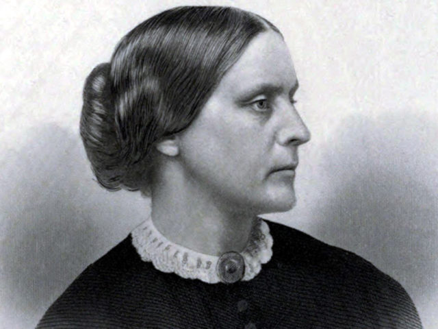 Susan B Anthony ca 1855 Public Domain